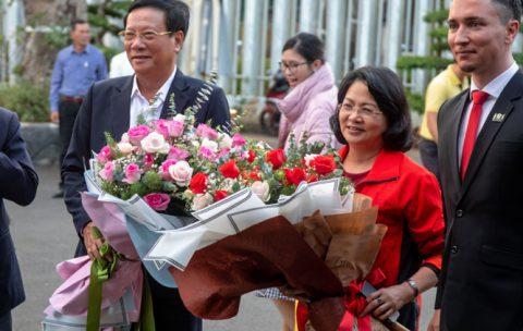 Phó Chủ tích nước Đặng Thị Ngọc Thịnh ghé thăm Tea Resort